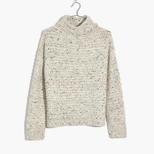 Madewell Belmont Mockneck Sweater Dongel Snow XXL
